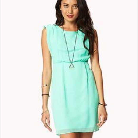 Forever 21 Mint Short Dress Mint short dress NWT from Forever 21. Size Large. Really Pretty Forever 21 Dresses Midi