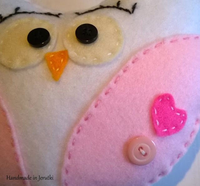 Handmade in Jerutki: Różowa Różyczka