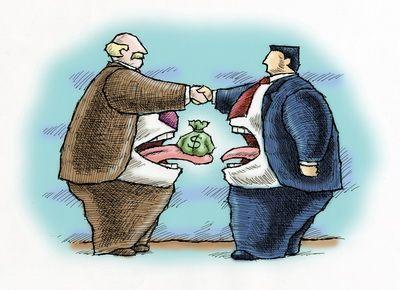 Corrupt bosses