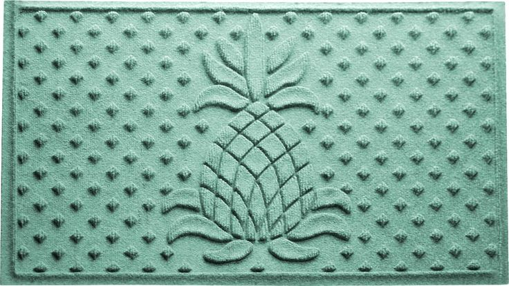 Aubrielle Diamond Pineapple Doormat & Reviews   Joss & Main
