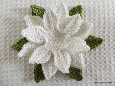 Flor de lotus passo a passo (77)