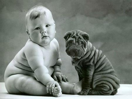 see wrinkles can b cute!