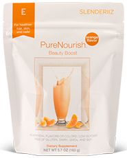 PureNourish Beauty Boost provides a delicious mandarin orange flavor enhancement to PureNourish Natural as well as a bevy of health benefits. This proprietary blend focuses on healthy hair, skin, and nails to make your shake even more beneficial! #shake #smoothie #hair #skin #nails