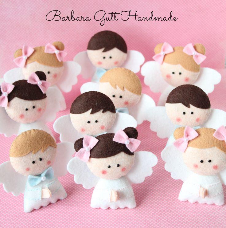 Barbara Handmade...: Anielska drużyna / The Angels`team