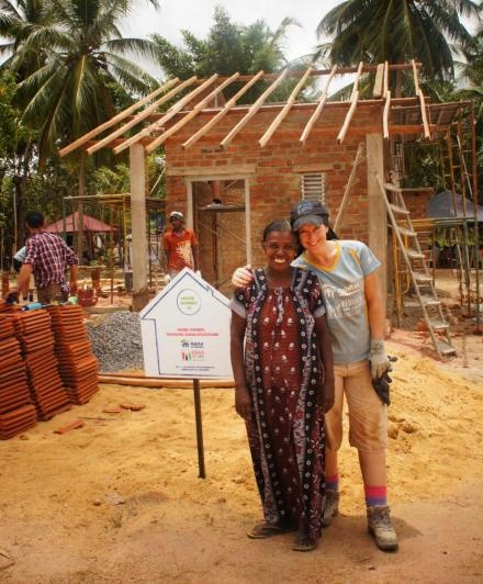 Where being a city wuss can take you. AUT's digital and social media manager Belinda Nash builds a house for charity in Sri Lanka.