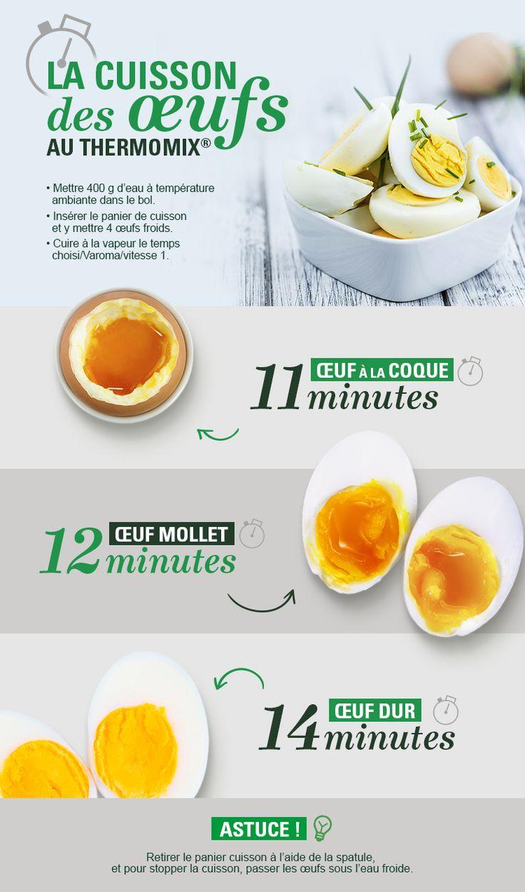 Découvrez les astuces pour la cuisson de vos oeufs au Thermomix® sur notre blog !