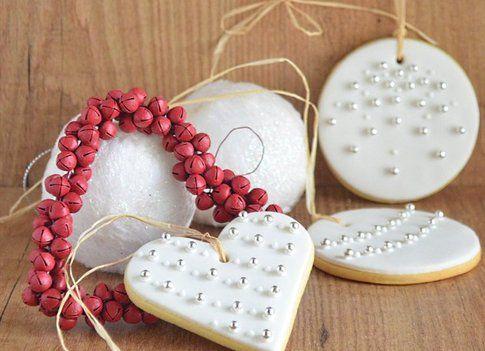 biscotti di natale decorati con pasta di zucchero, creazione e foto di Simona Mirto