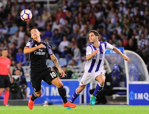Real Sociedad 0-3 Real Madrid live score and goal updates from La Liga opener