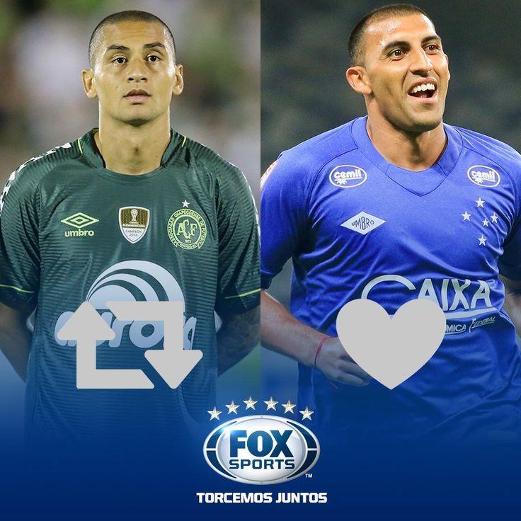 #Chape e #Cruzeiro têm batalha decisiva pela #CopaDoBrasilFOXSports e qual dos matadores vai deixar o seu nessa partida? OPINE! pic.twitter.com/6bAE3ltc23   FOX Sports Brasil (@FoxSports_br) June 1 2017   FoxSports_br #Cruzeiro ℹ