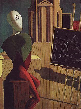 Giorgio De Chirico La Surprise | Le voyant , 1915, Giorgio de Chirico , (New York, The Museum of Modern ...