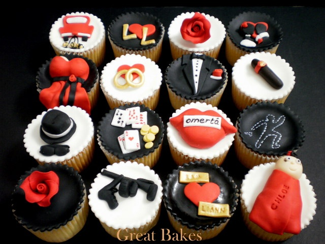 gangster party theme decorations | domestic goddess: November 2010
