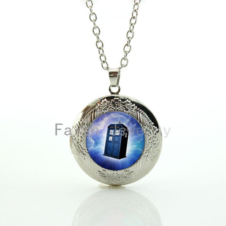 Время путешествия чехол для пересекать пространство и время TARDIS Доктор Кто ювелирные изделия фэнтези медальон ожерелье вентилятор подарки идеи HH258