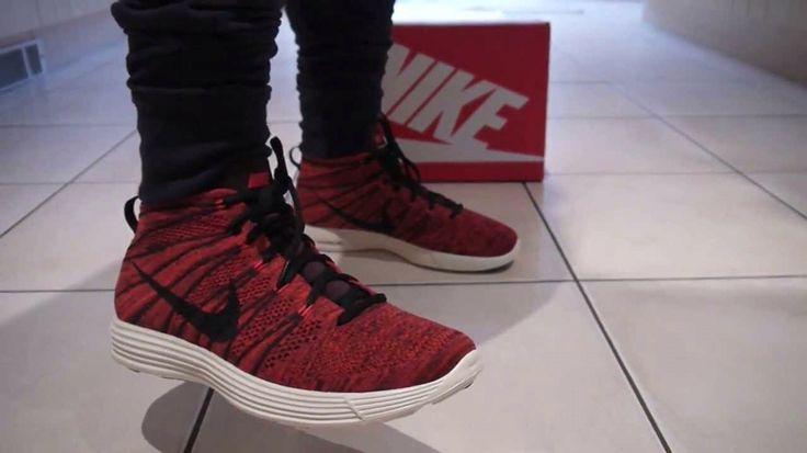 Nike Flyknit Chukka Burgundy