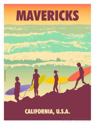 Mavericks Prints by Diego Patino at AllPosters.com