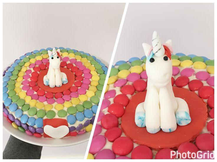 #unicorncake 🦄💚💙💛💜😋