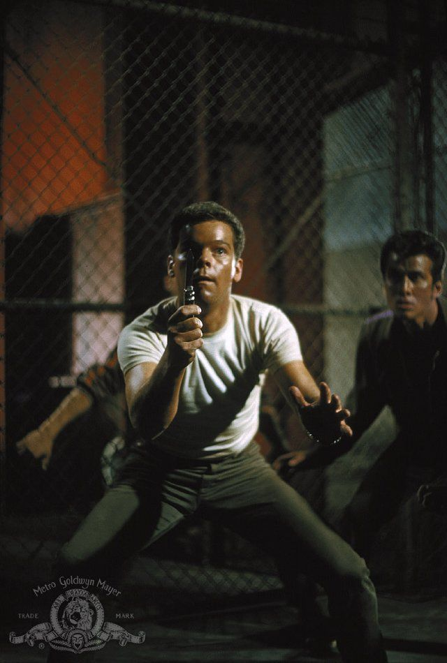 Still of Russ Tamblyn in West Side Story: Somehow I always found Riff's story the more compelling over Tony's... Tony miscast.