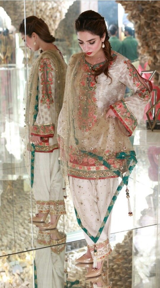 Pakistani outfit by Nickie Nina.