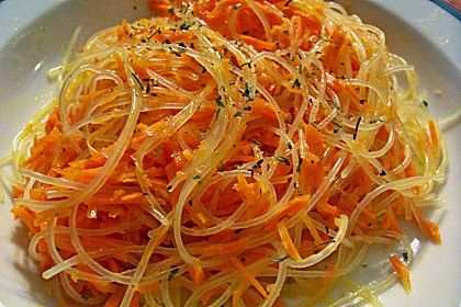 Pikanter Karottensalat mit Glasnudeln (Rezept mit Bild) | Chefkoch.de