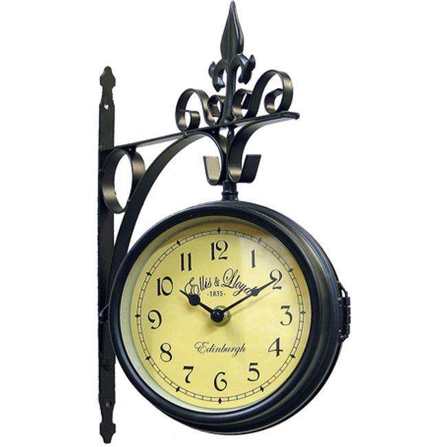 Ρολόι Τοίχου Σταθμού Μαύρο  Τιμή: €22,80 http://www.lovedeco.gr/p.Roloi-Toichou-Stathmoy-Mayro.867377.html