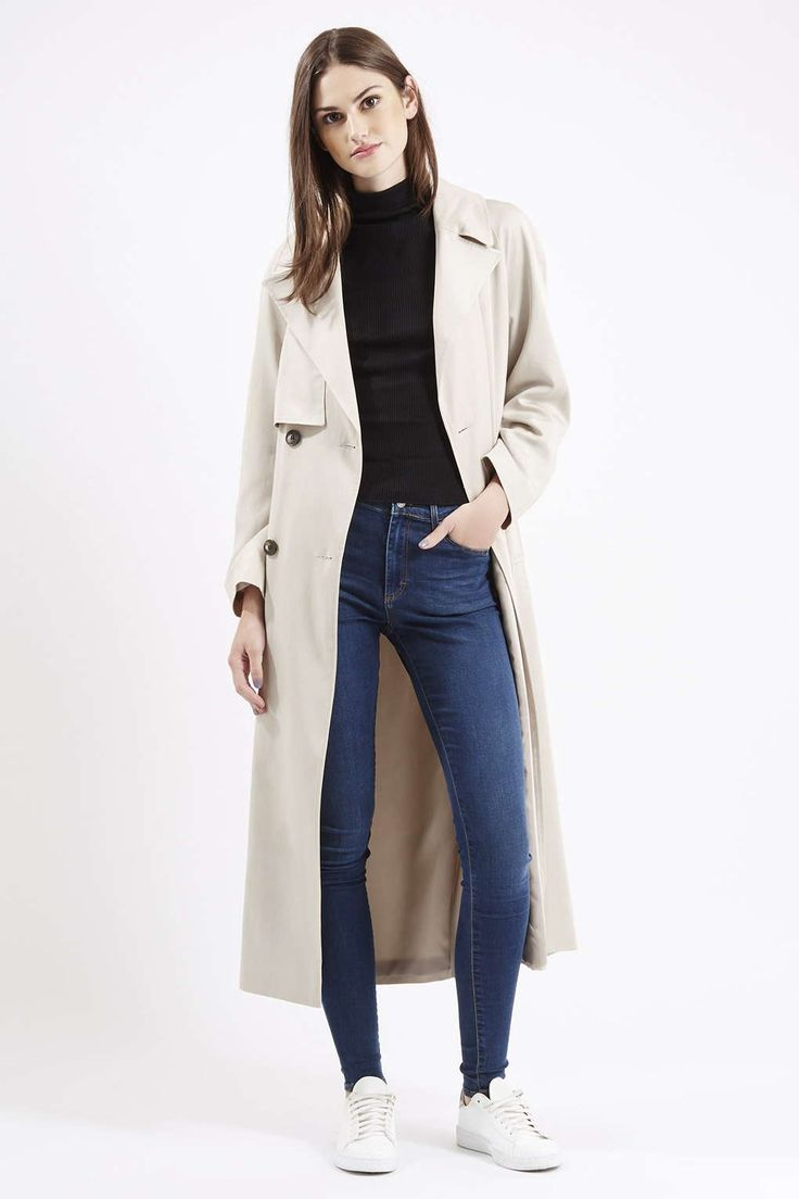 Longline Lightweight Trench Coat New In Trench