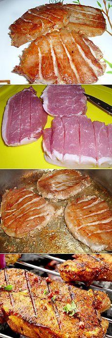 Простое блюдо из свинины, жарим вкусное мяско   Рецепты моей мамы