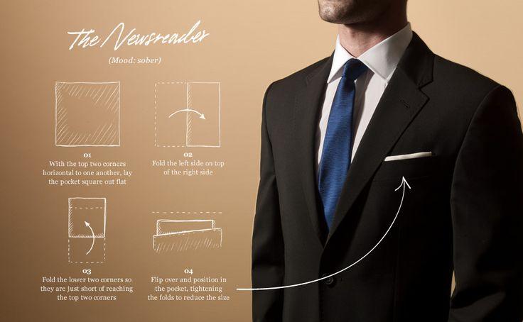 pocket squares   Five Ways To Wear   The Journal MR PORTER