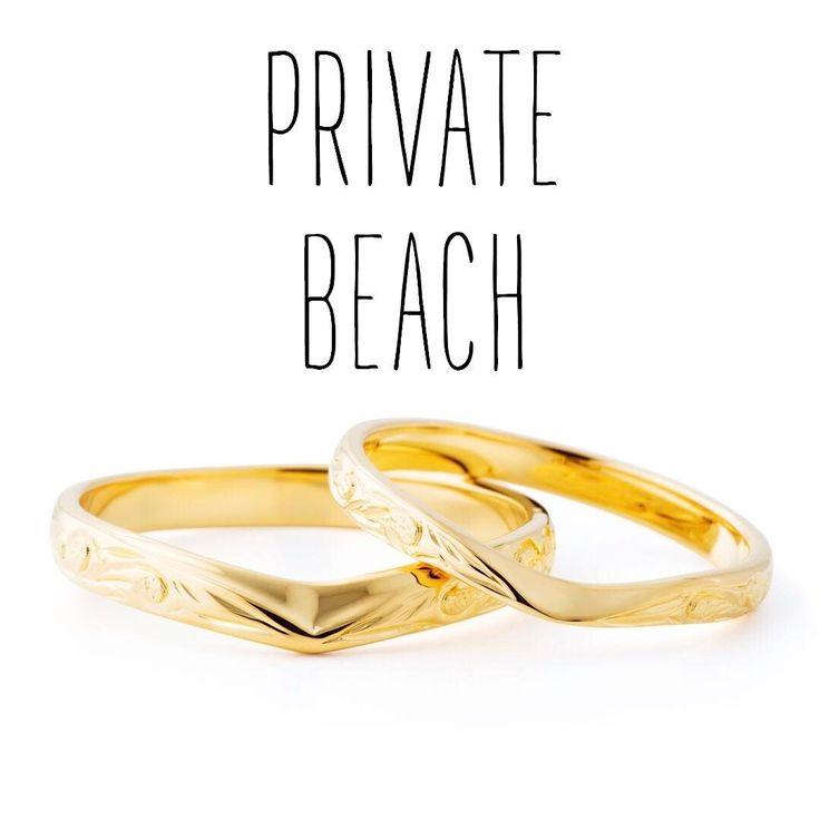 ハワイアンジュエリー リング 結婚指輪 婚約指輪 マリッジリング エンゲージリング エタニティリング ゴールド プラチナ ダイヤ 海 プライベートビーチ privatebeach 記念日 プレゼント リゾートウェディング リゾート婚 サーファー 波 Wedding 高崎