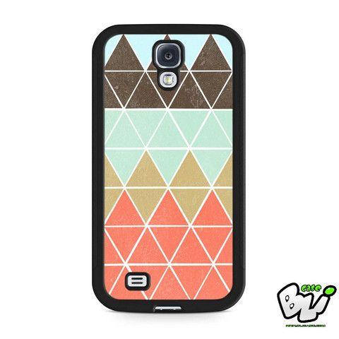 Pastel Geometric Chevron Samsung Galaxy S4 Case