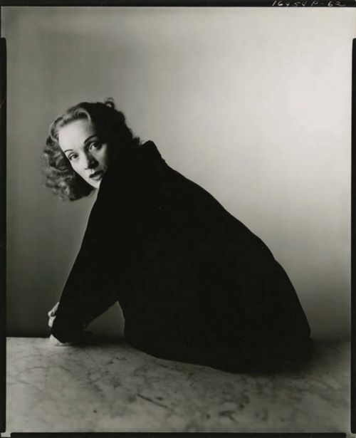 Dietrich.   by Irving Penn