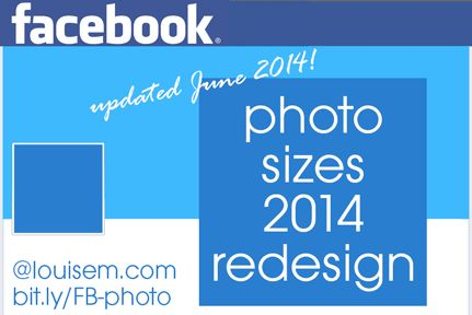 Best practices for creating images for the new Facebook Page design! Bigger wall photos, no more milestones - read it all here: http://louisem.com/1726/best-facebook-photo-sizes-cover-profile-wall-photos