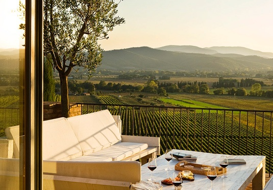 a Tuscan view...Maybe for my 25th Wedding Anniversary!