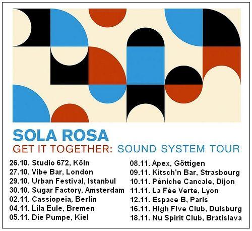 https://flic.kr/p/at2YFQ | Get IT Together UK/EU tour poster