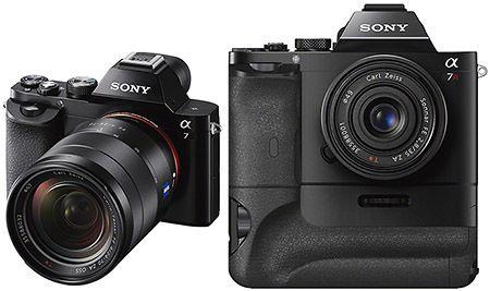 Sony A7 och A7R – två fullformatare utan spegel