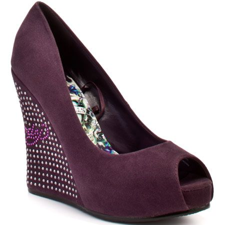 Veva Wedge Heel - Purple - My collection from top #designers