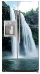 High Waterfall Refrigerator Cover