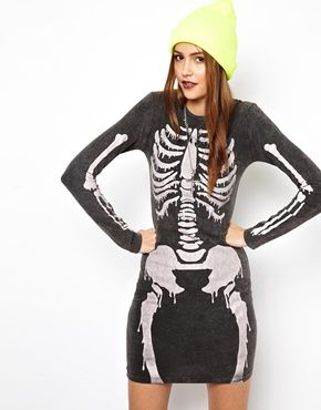 This just happened. Teaming it with Temporary green hair for a Halloween special! Love ASOS