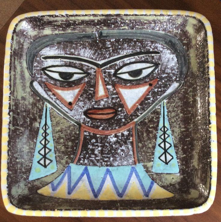 My new Mari Simmulson plate - one of my favourites!