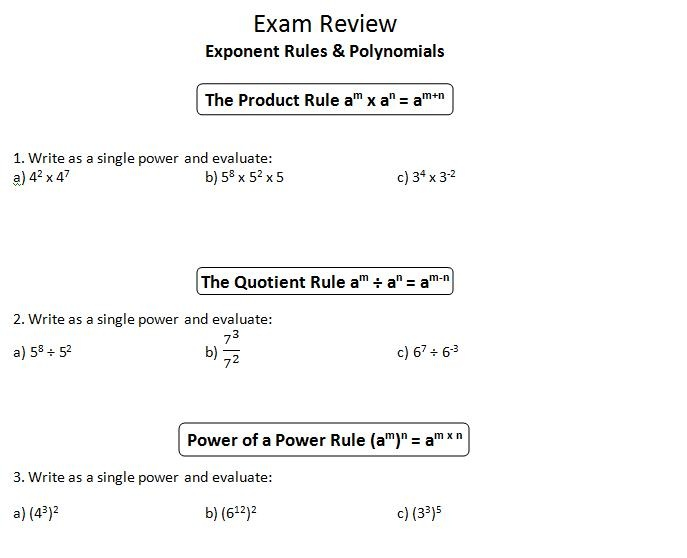 Product And Quotient Rule Worksheet Rringband – Product Rule Worksheet