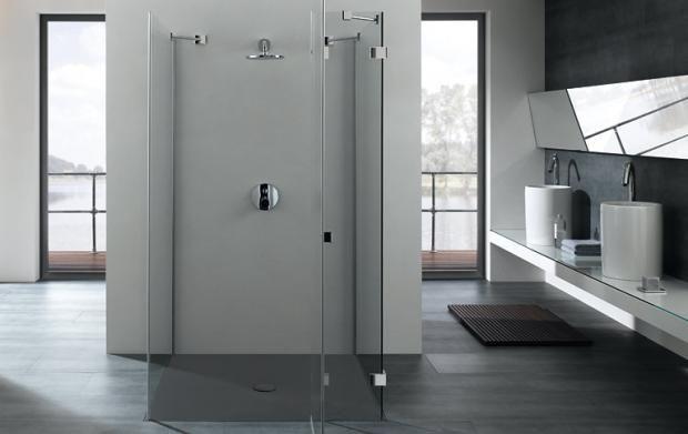 Wellness für die Dusche Walk in dusche, Schließfächer