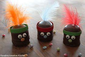 Schokokuss Indianer, Dickmann, Negerkuss, fun food, kindergeburtstag, kinderessen, für kinder,