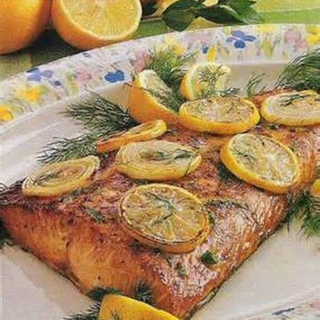 Lemon Pepper Salmon