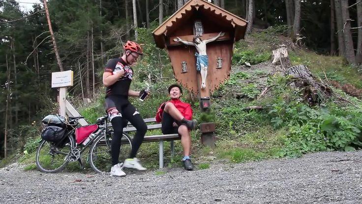 По миру // Просто божественный день // Альпы на велосипеде // 3-6
