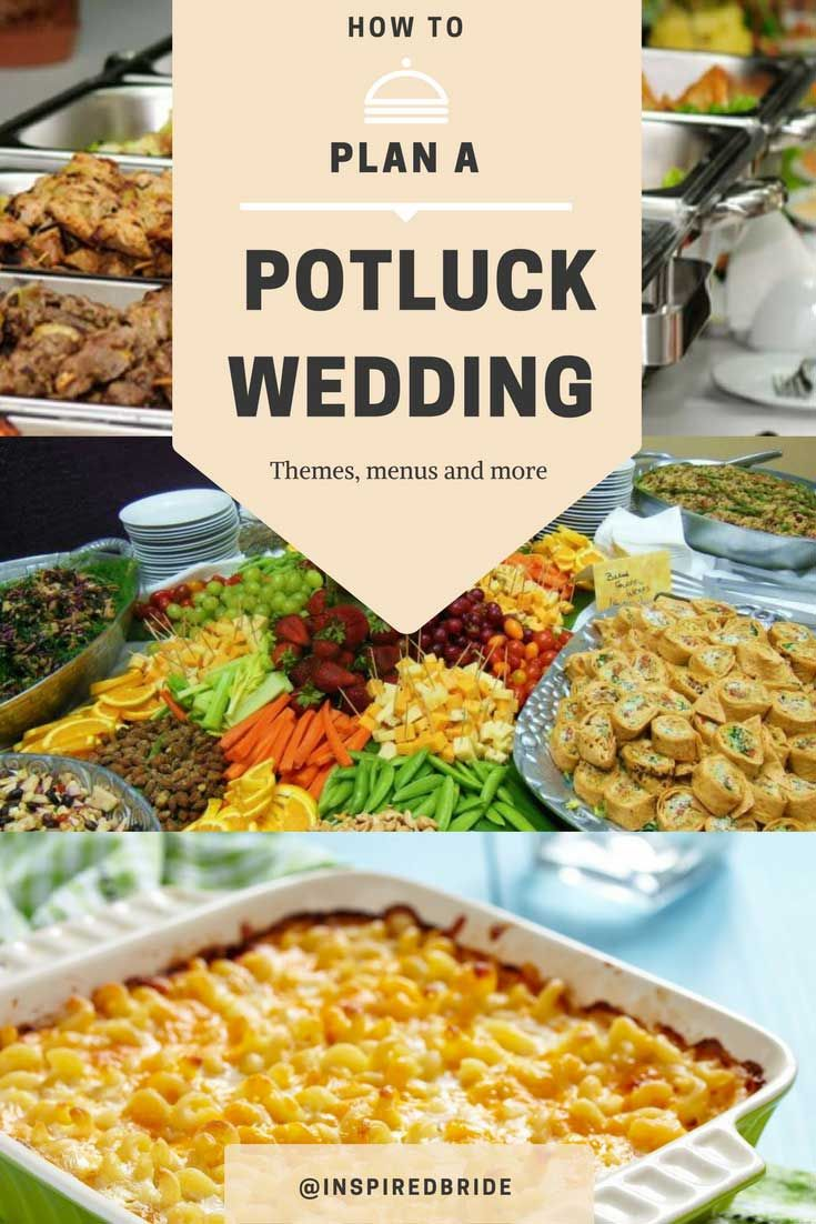 Looking for tips and tricks on planning a potluck wedding? If you are considering it or you just got invited to one then we