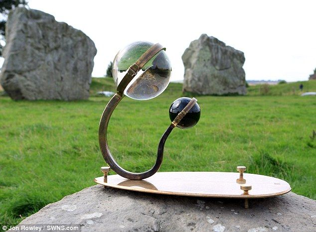 The device can also tell you when the Full Moon is at its zenith and it can also be used as a sun dial.   check out the article!