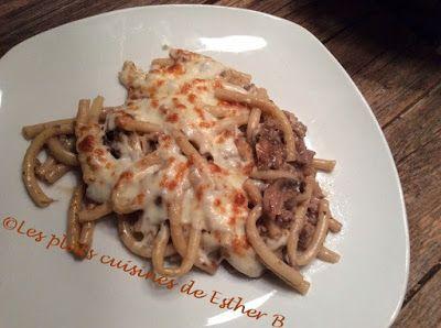 Les plats cuisinés de Esther B: Macaroni d'Anne-Marie