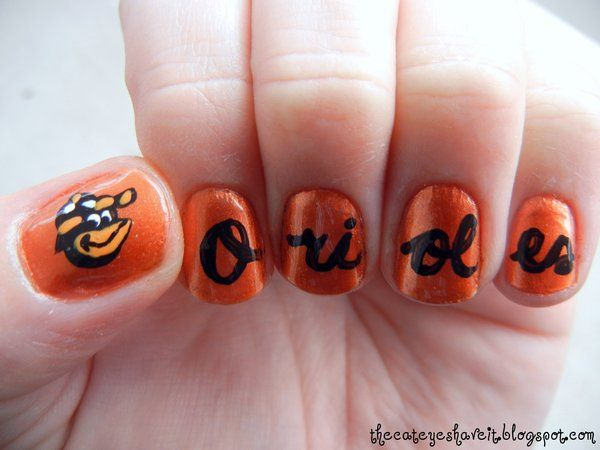 Orioles Nails