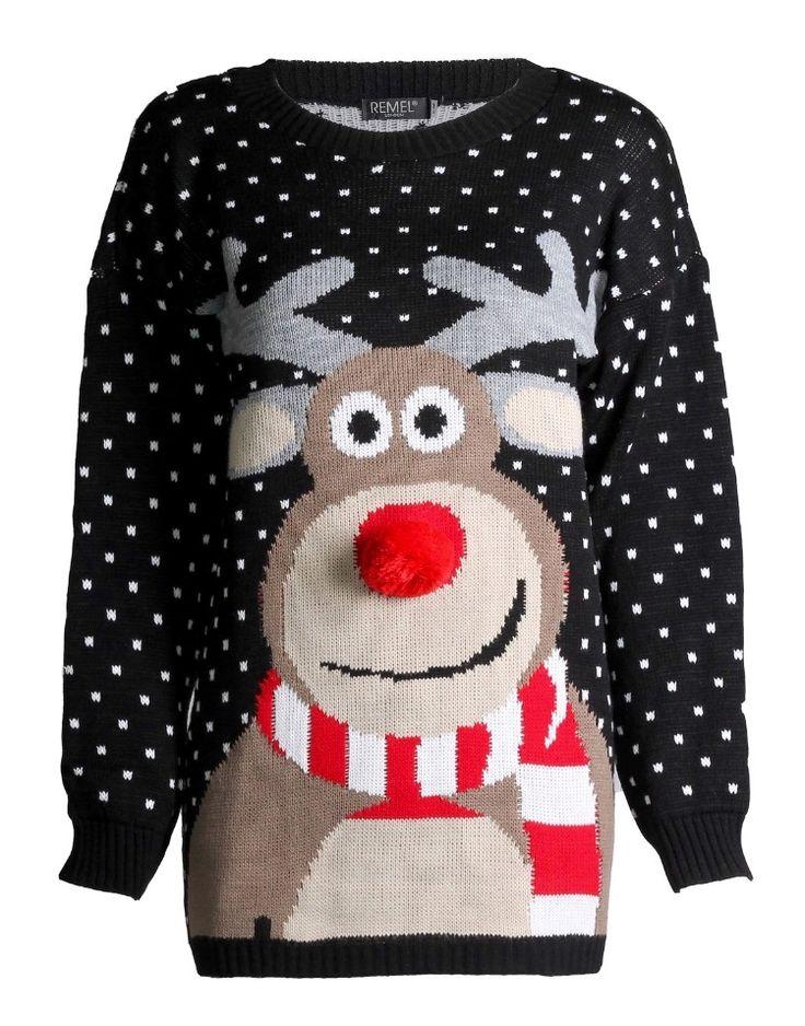 christmas sweater reindeer