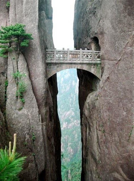 The Bridge of Immortals, China