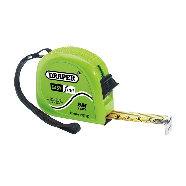 Draper 75886 Measuring Tapes (7.5m/25ft)