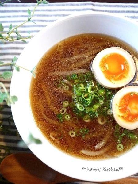 もやしたっぷり♪醤油ラーメン風もやしスープ by たっきーママ ...